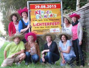 Vorbereitungsteam Kinderfest 2015