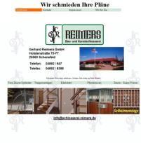Schlosserei Reimers Screenshot