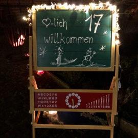 Lebendiger Adventskalender: <br> Nachbarschaft Marktstraße
