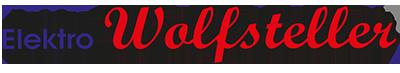 Logo Elektro Wolfsteller